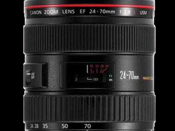 Rent: Canon 24-70mm 2.8 Zoom Lens