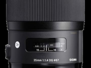 Rent: Sigma Art Prime 35mm 1.4