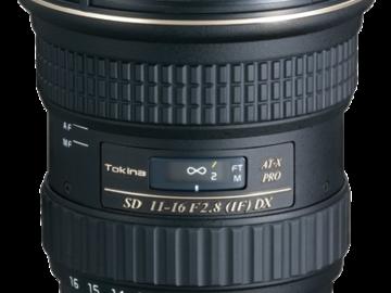 Rent: Tokina Zoom 11-16mm F/2.8