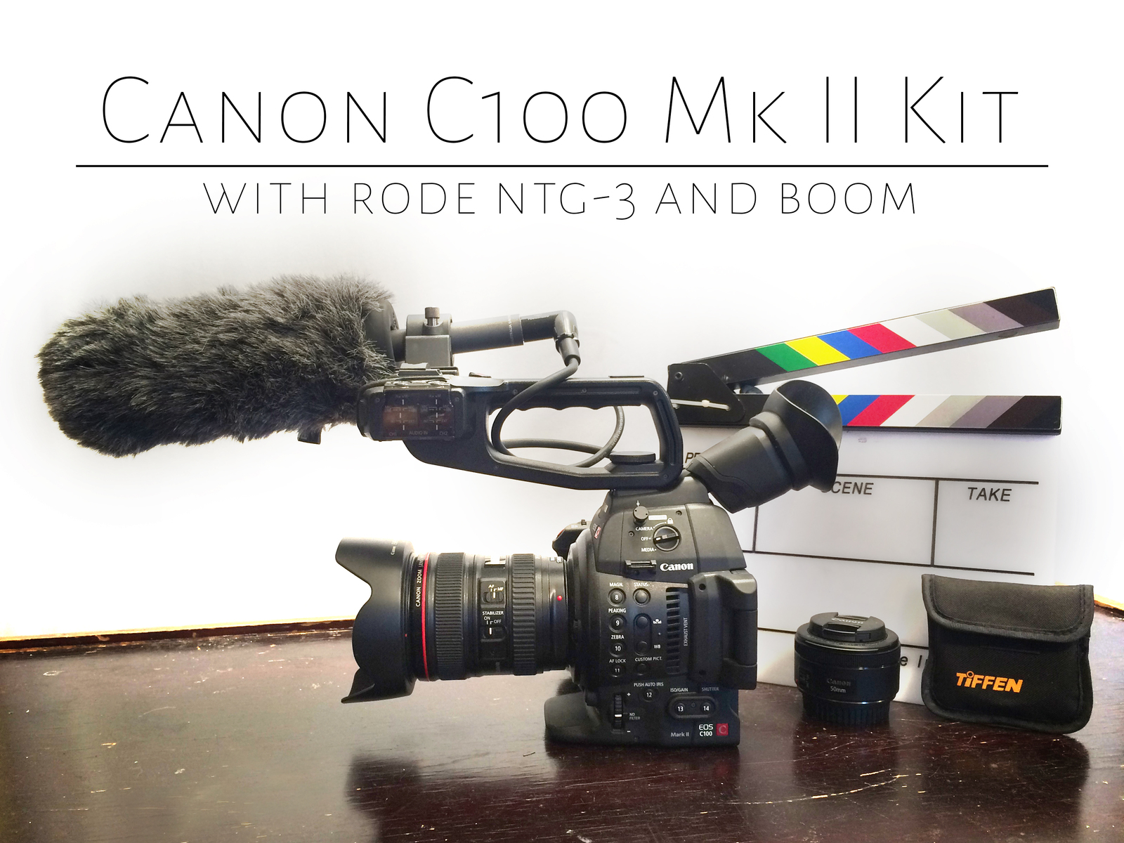 Rent a Canon C100 Mk II mkii (w/lenses) and Rode NTG-3 Mic Kit , Best  Prices | ShareGrid Los Angeles