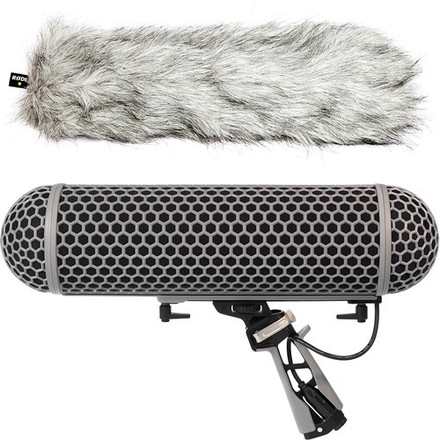 Rode Blimp Windshield and Rycote mount