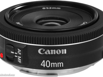 Rent: Canon EF 40mm f/2.8 Pancake