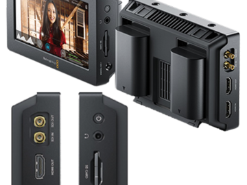 Rent: Blackmagic Video Assist  5-in Recording Monitor