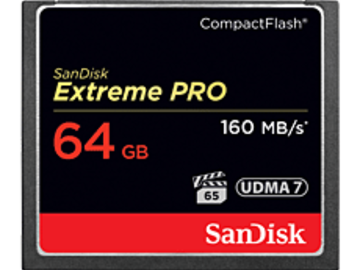 Rent: SanDisk 64GB Extreme Pro Compact Flash