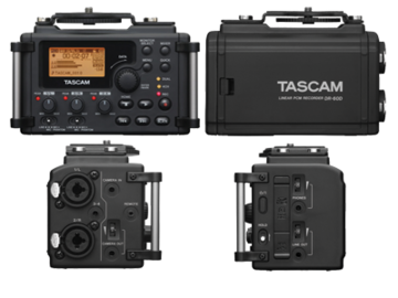 Rent: Tascam DR-60D 4-Channel Linear PCM Recorder
