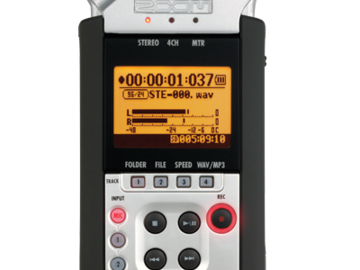 Rent: H4n 4-Channel Field Recorder