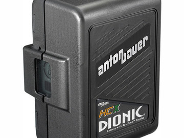 Rent: Anton Bauer Dionic HCX 14.4V-120W Lithium-ion Battery