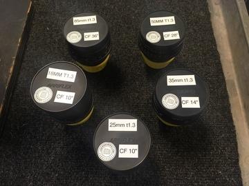 Rent: Zeiss Super Speeds Mark III large Set 16,18,25,35,50,85,135