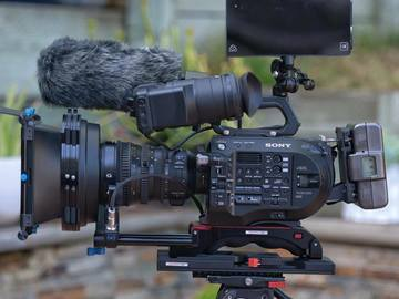 Rent: Sony PXW-FS7m2 XDCAM Super 35 Camera with Sony 18-110 lens