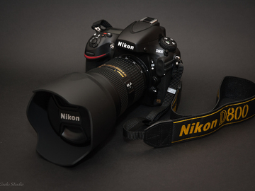 Rent: Nikon D800 Package