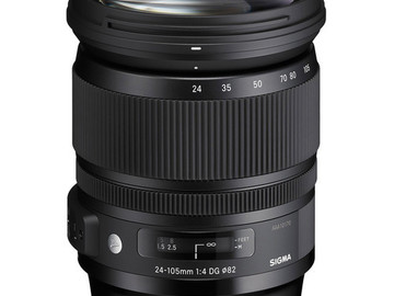 Rent: Sigma 24-105mm f/4 DG OS HSM Art for Canon EF