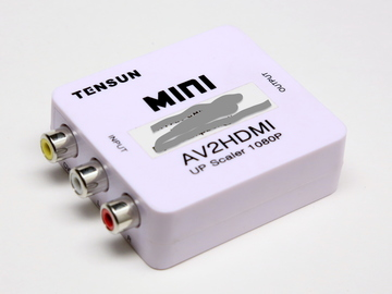 Rent: Tensun AV2HDMI Composite Video to HDMI Converter