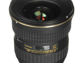 Rent: Tokina 11-16mm F/2.8 Lens