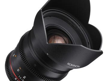Rent: Rokinon 24mm DS T/1.5 Cine Lens