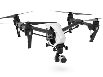 Rent: DJI Inspire 1 4K w/ 5 Batts, 2 Controllers, Zenmuse X3 ++