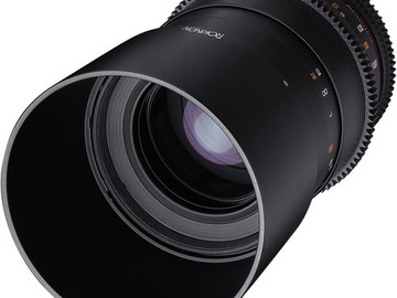 Rent: Rokinon 100mm T3.1 Macro Cine Lens