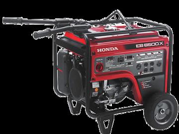 Rent: Honda EB6500 X - 6500 watt generator
