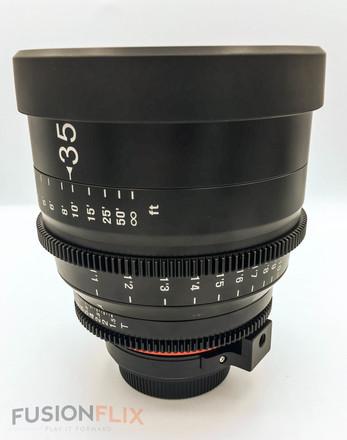 Rokinon Cine 35mm T1.5