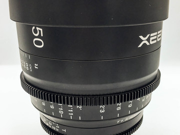 Rent: Rokinon XEEN 50mm T1.5