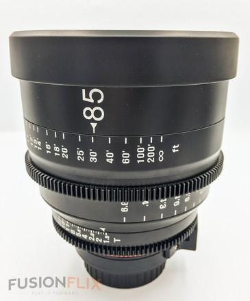 Rokinon XEEN 85mm T1.6