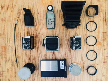 Rent: Hasselblad 500C Package