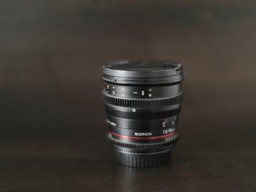 Rent: Rokinon Cine DS 50mm T1.5 Lens