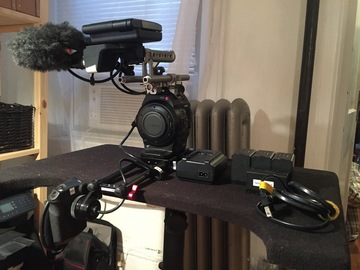 Rent: C300 Cinema Package (6 Zeiss ZF Primes + Odyssey 7Q+)