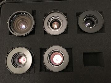 Rent: Leica R (19,28,35,50,90) Lens Set
