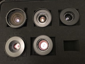 Rent: Leica R (19,28,35,50,90) Lens Set