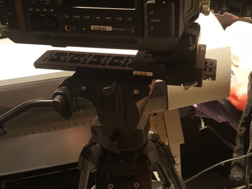 Rent: Manfrotto 501HDV Video Head and Tripod