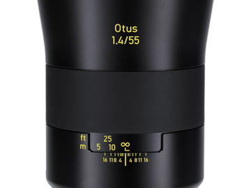 Rent: Zeiss 55mm f/1.4 Otus Distagon T* Lens for Canon EF Mount