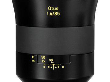 Rent: Zeiss Otus 85mm f/1.4 Apo Planar T* ZE Lens for Canon EF Mou