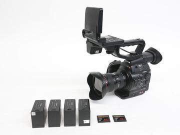 Rent: Canon EOS C300 Camera w/ Canon 16-35mm f/2.8 II Zoom Lens