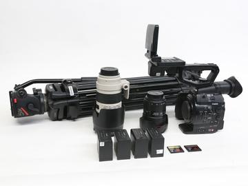 Rent: Canon EOS C300 Camera w/ 24-70, 70-200 & tripod