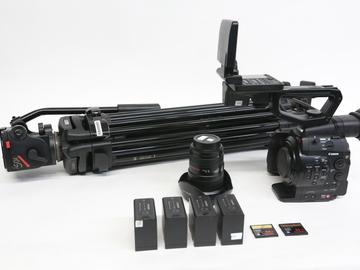 Rent: Canon EOS C300 Cinema Camera w/ Manfrotto tripod, 16-35