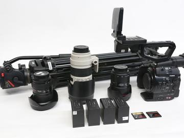 Rent: Canon EOS C300 Camera w/ 24-70, 70-200, & 16-35 & tripod