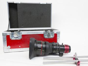 Rent: Canon CINE-SERVO 17-120mm T2.95-3.9 (2 of 2)