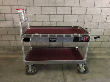 Yaeger and Sons Senior Camera Cart w/ Mitchell mount