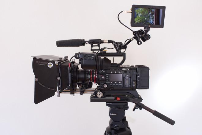 Sony PMW-F5 4K License, Rokinon Primes, Tripod and more