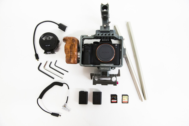 Sony Alpha A7S II  W Tilta Cravity G2X & Sony 16-35 f/4 Kit