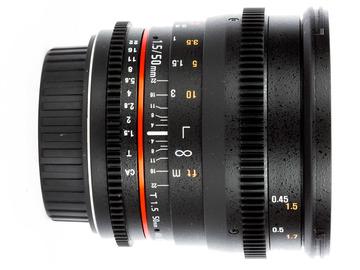 Rent: Rokinon 50mm T1.5 Full Frame Cine Lens for Canon