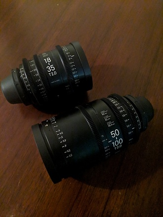 Sigma Cine Zoom Lenses Package