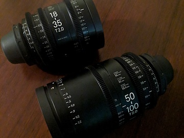 Rent: Sigma Cine Zoom Lenses Package