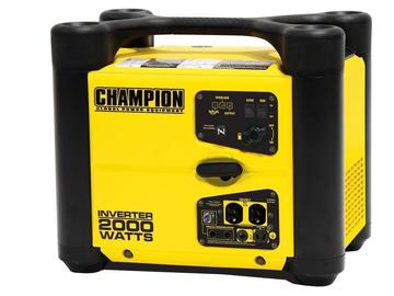 Rent: Champion  2000w inverter generator