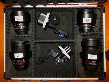 Rokinon Cine DS Lens Set T1.5 (24-35-50-85)
