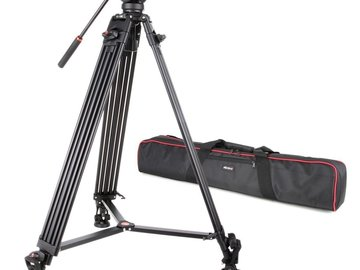 Rent: Professional Heavy Duty Video Camcorder Tripod