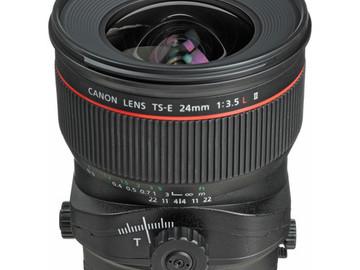 Rent: Canon 24L II TS