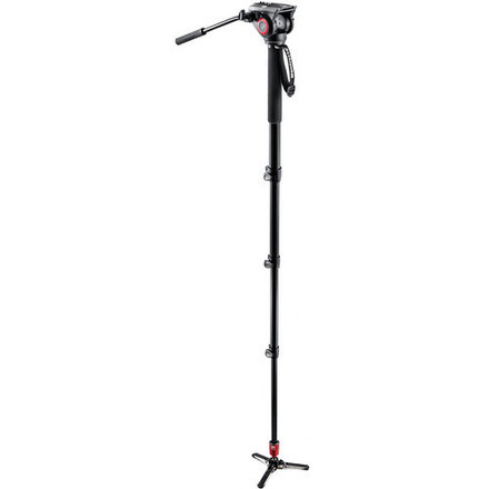 Manfrotto MVM500A Fluid Aluminum Video Monopod