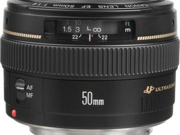Rent: Canon EF 50mm f/1.4 USM Lens
