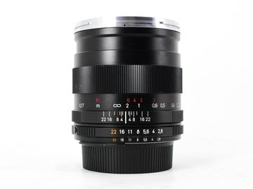 Rent: Zeiss ZF.2 25mm f/2.8 T* Distagon, Nikon Fit